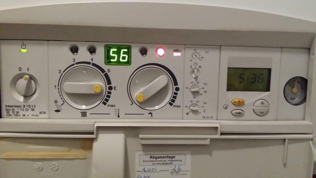 Sehr Brennwertkessel ZB 7-22 A 21 (Richtig Einstellen) UJ82
